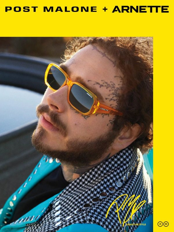 Arnette POST MALONE AN4265 265587 Amarelo