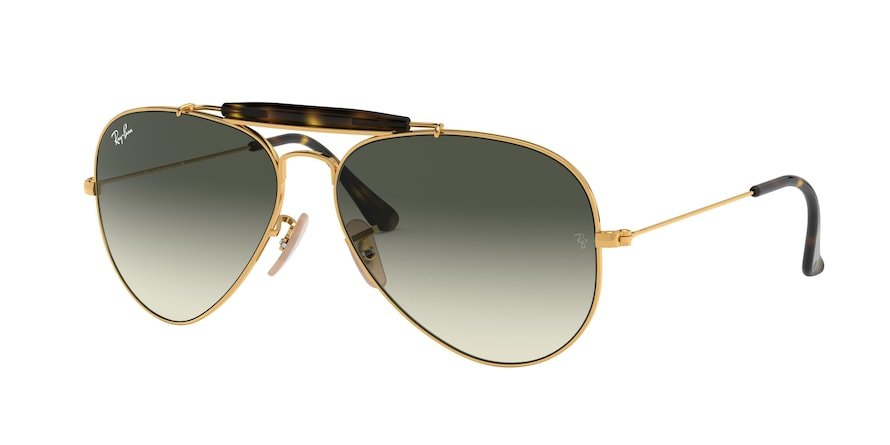 Ray-Ban Outdoorsman II 0RB3029 Ouro