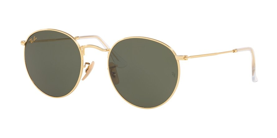 Ray-Ban Round Metal 0RB3447L Ouro