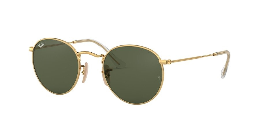 Ray-Ban Round Flat 0RB3447NL Ouro