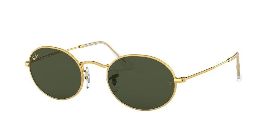 Ray-Ban Oval 0RB3547 Ouro