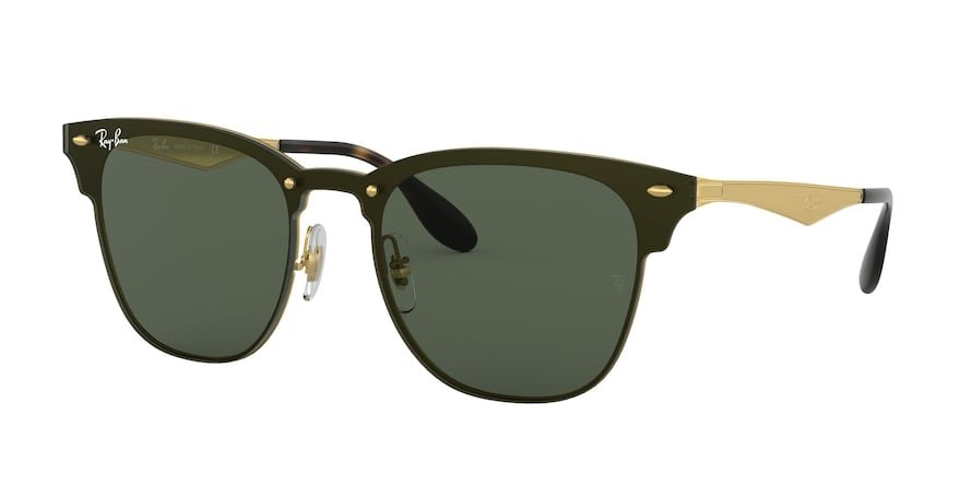 Ray-Ban Blaze Clubmaster 0RB3576N Ouro