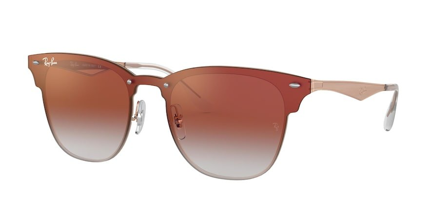 Ray-Ban Blaze Clubmaster 0RB3576N Bronze