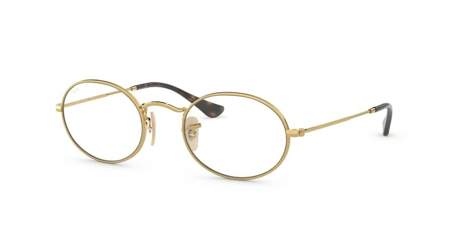 Ray-Ban Optical Oval 0RX3547V Ouro