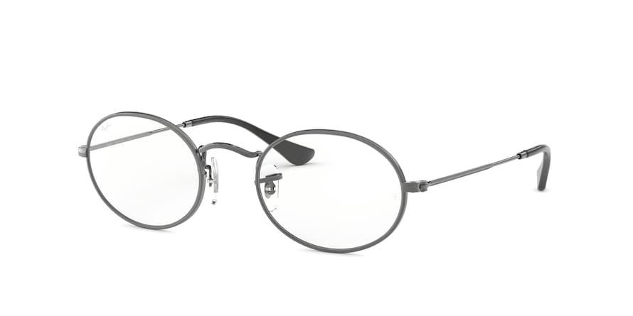 Ray-Ban Optical Oval 0RX3547V Gunmetal