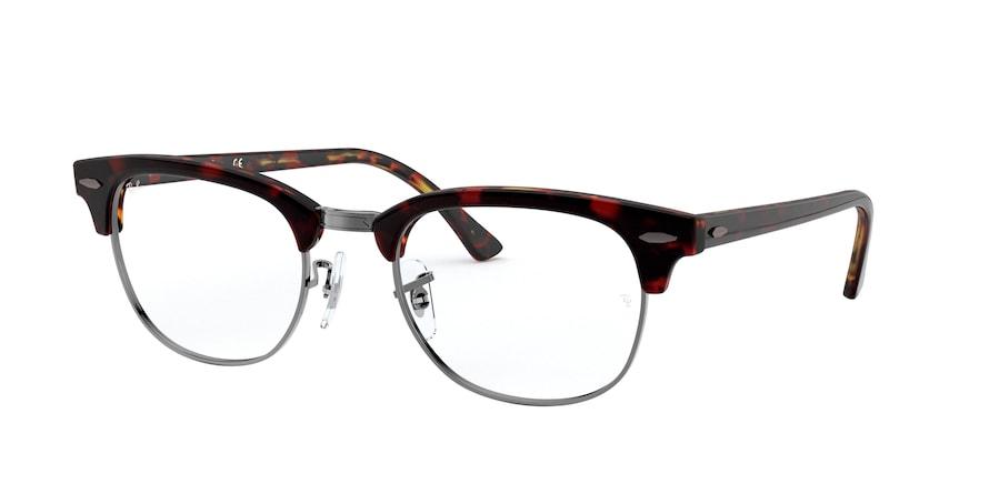 Ray-Ban Optical Clubmaster 0RX5154 Top Vermelho