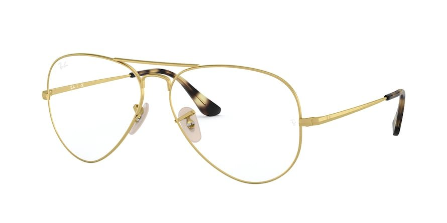 Ray-Ban Optical Aviator 0RX6489 Ouro