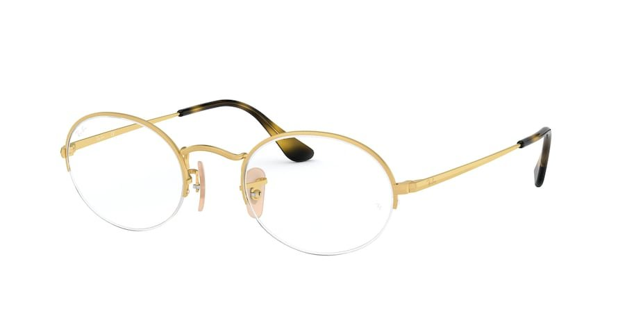 Ray-Ban Optical Oval Gaze 0RX6547 Ouro