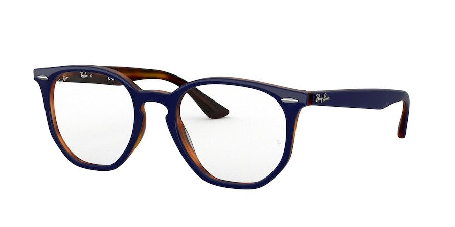 Ray-Ban Optical Hexagonal 0RX7151 Top Azul