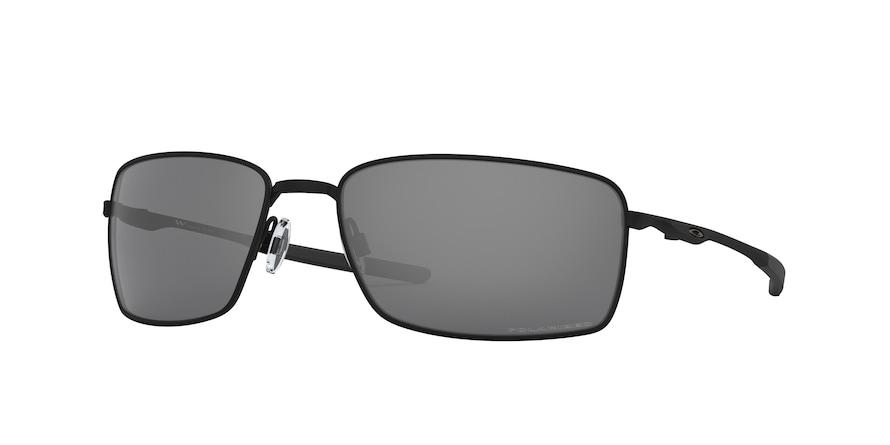 Oakley Square Wire OO4075 Matte Black Lentes Black Iridium Polarized 05
