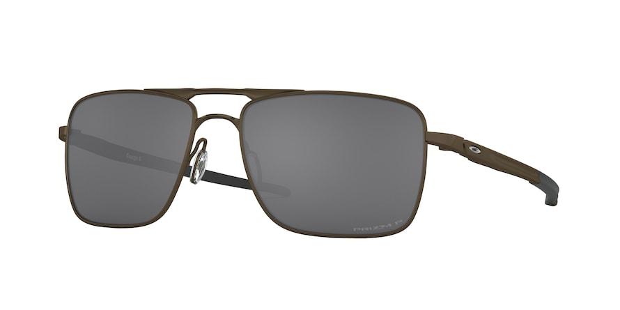 Oakley Gauge 6 OO6038 Pewter Lentes Prizm Black Polarized 06