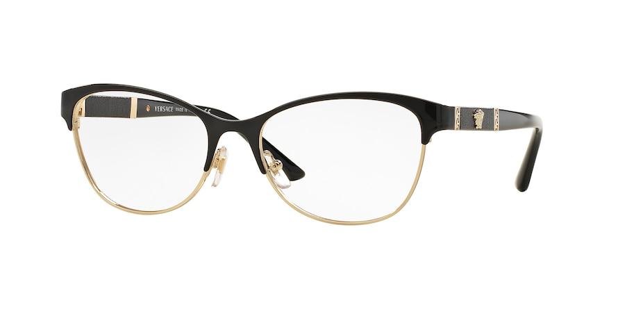 Versace VE1233Q Black/Pale Gold