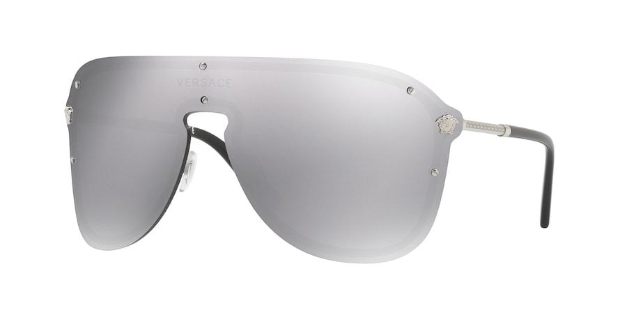 Versace VE2180  Silver Lentes Light Grey Mirror Silver