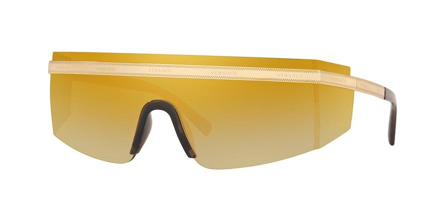 Versace VE2208  Gold Lentes Brown Mirror Gold