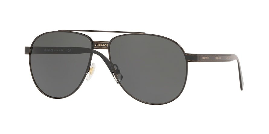Versace VE2209  Black Lentes Grey