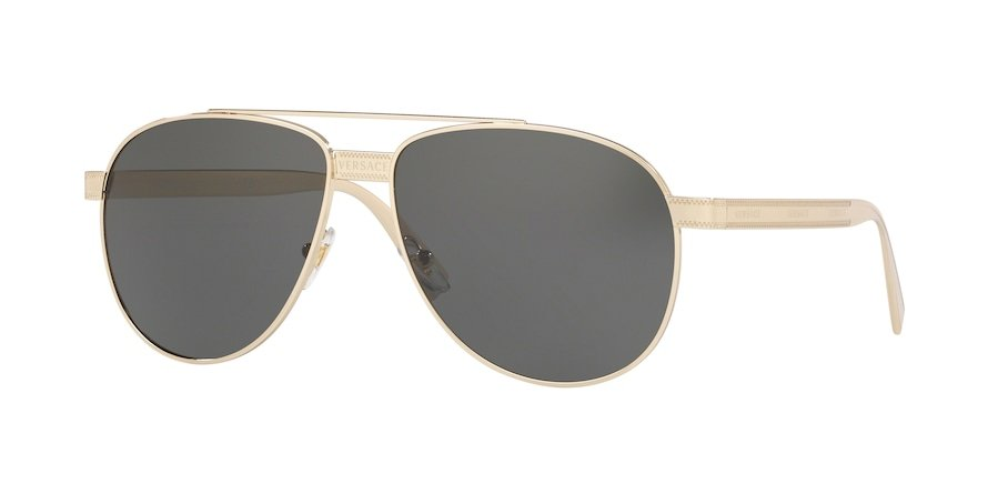 Versace VE2209  Pale Gold Lentes Grey