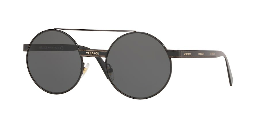 Versace VE2210  Black Lentes Grey