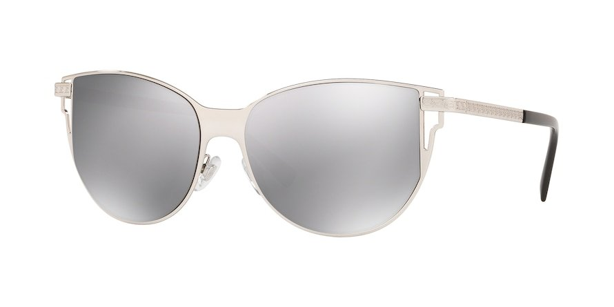 Versace VE2211  Silver Lentes Light Grey Mirror Silver 80?