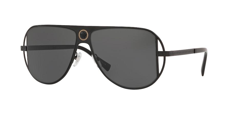 Versace VE2212  Matte Black Lentes Grey
