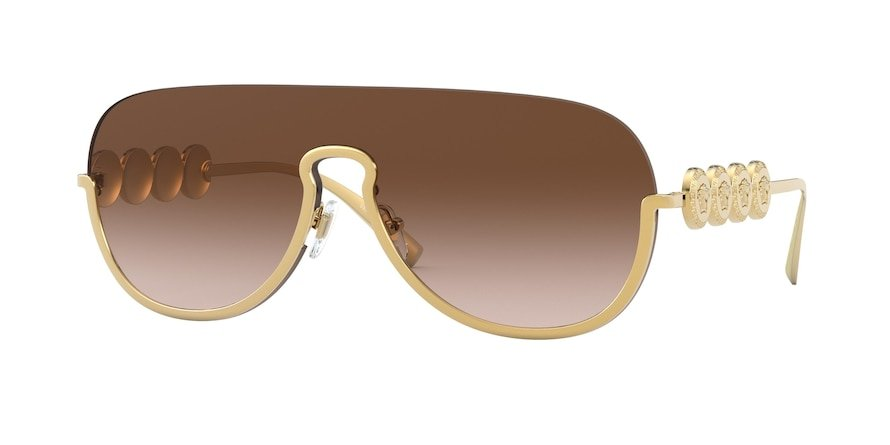 Versace VE2215  Gold Lentes Brown Gradient