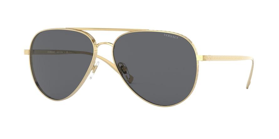 Versace VE2217  Gold Lentes Grey