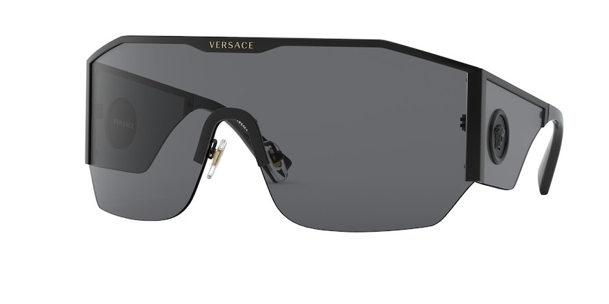 Versace VE2220  Black Lentes Grey