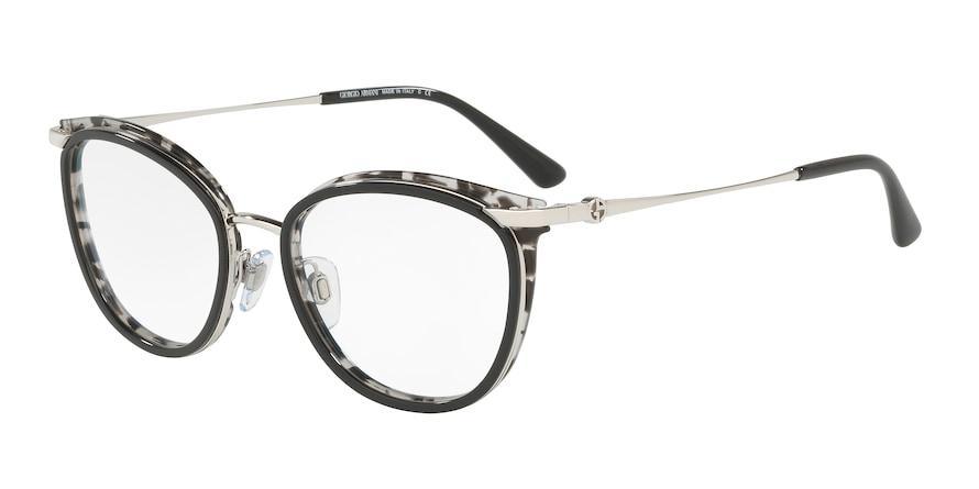 Giorgio Armani AR5074 Silver/Top Black-Grey Havana