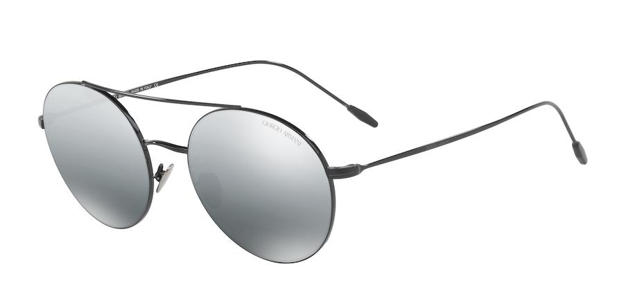 Giorgio Armani AR6050 Black Lentes Grey Mirror Silver Gradient