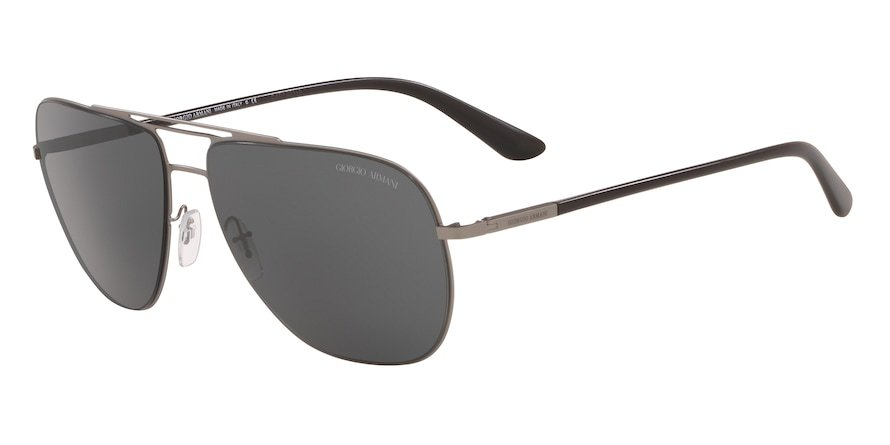 Giorgio Armani AR6060 Matte Gunmetal Lentes Grey