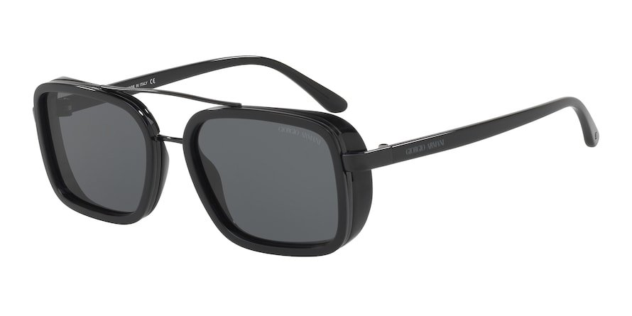 Giorgio Armani AR6063 Black Lentes Grey