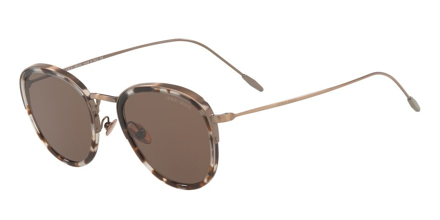 Giorgio Armani AR6068 Havana Beige/Brown Lentes Brown
