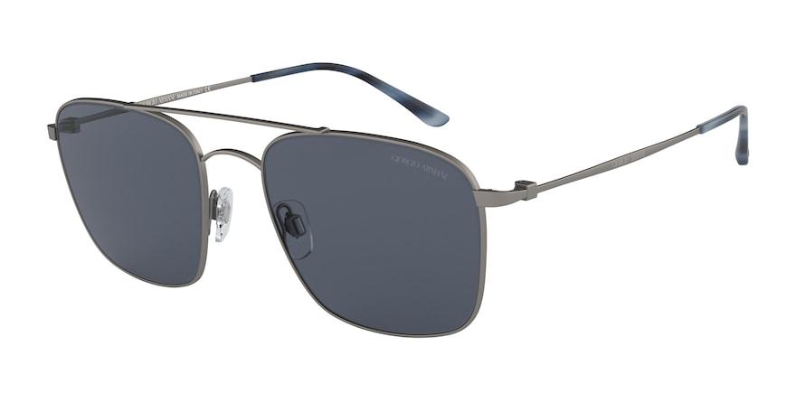 Giorgio Armani AR6080 Matte Gunmetal Lentes Grey