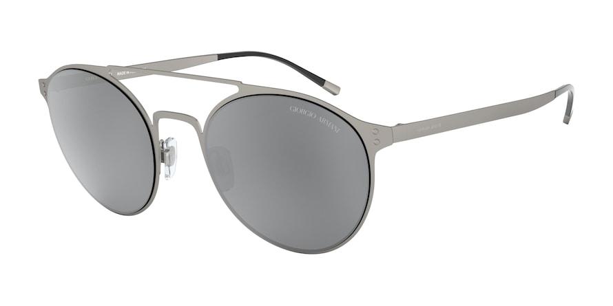Giorgio Armani AR6089 Matte Gunmetal Lentes Light Grey Mirror Black