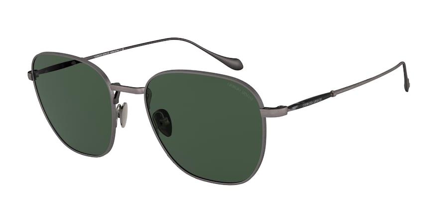 Giorgio Armani AR6096 Brushed Grey Lentes Green