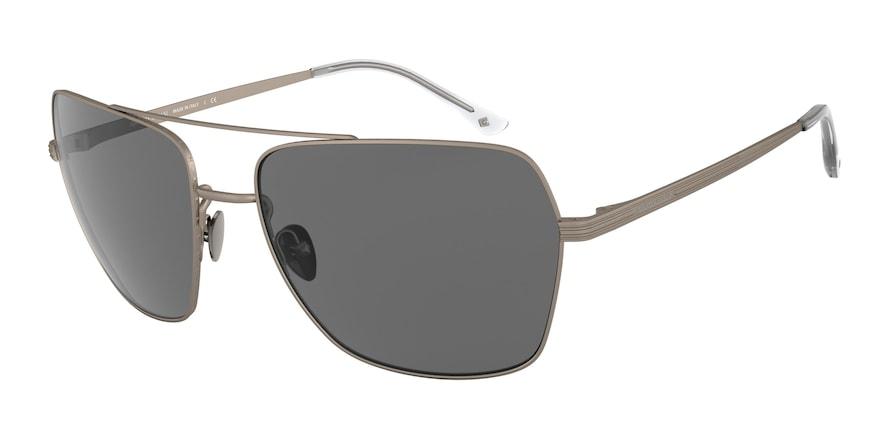 Giorgio Armani AR6105 Matte Gunmetal Lentes Grey