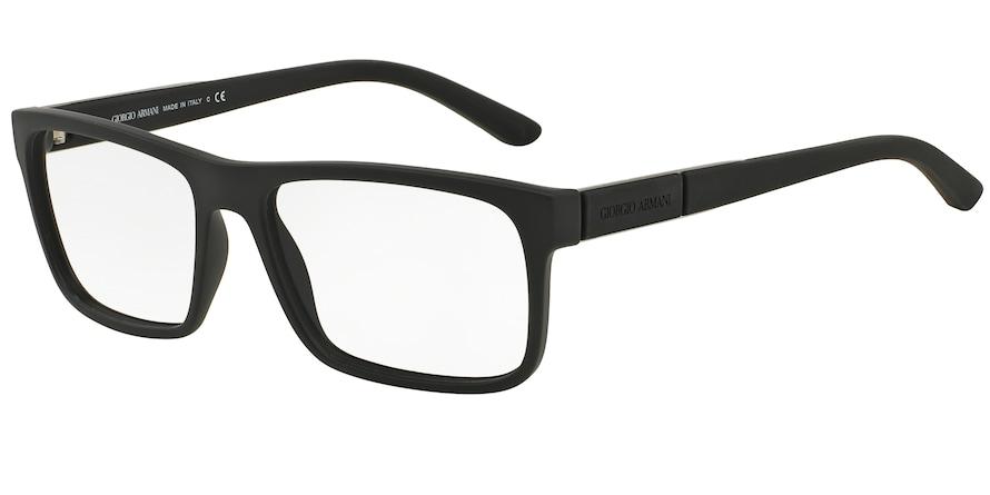 Giorgio Armani AR7042 Black Rubber