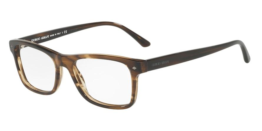 Giorgio Armani AR7131 Striped Brown