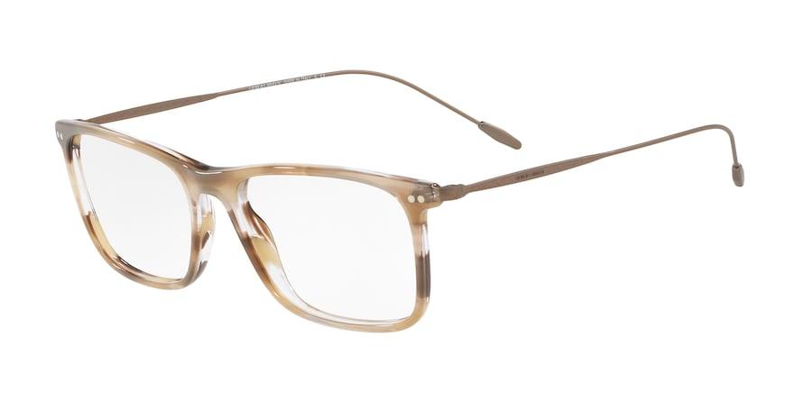 Giorgio Armani AR7154 Striped Brown