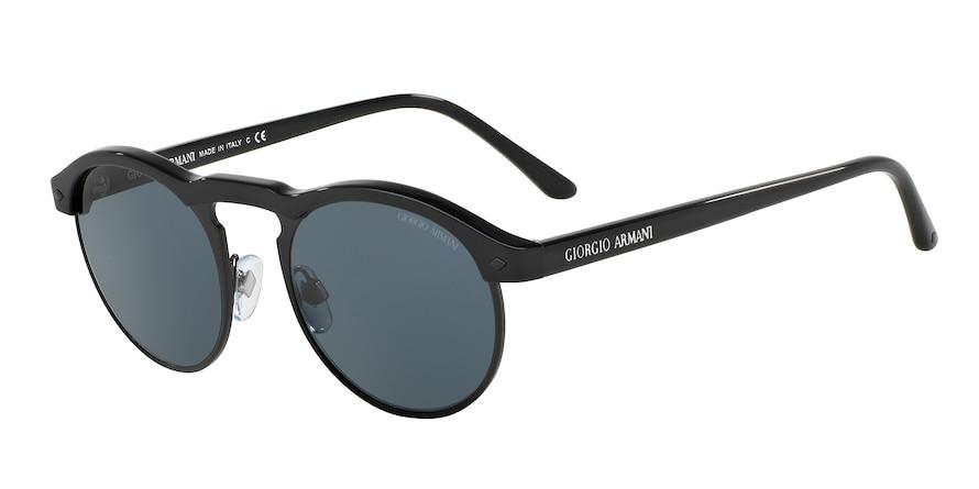 Giorgio Armani AR8090 Black/Matte Black Lentes Grey