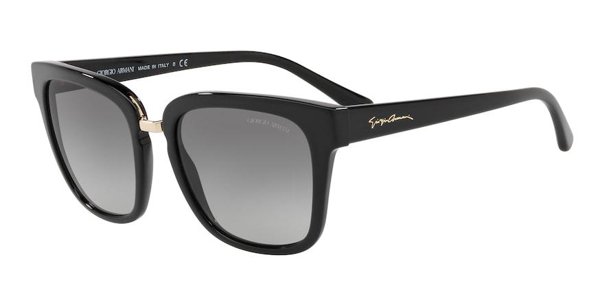 Giorgio Armani AR8106 Black Lentes Grey Gradient