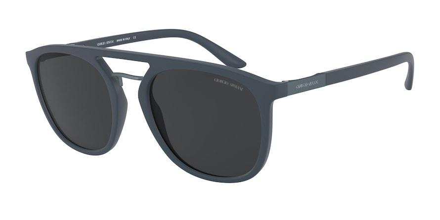 Giorgio Armani AR8118 Matte Blue Lentes Grey