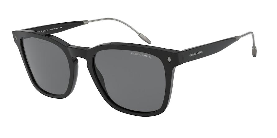 Giorgio Armani AR8120 Black Lentes Grey