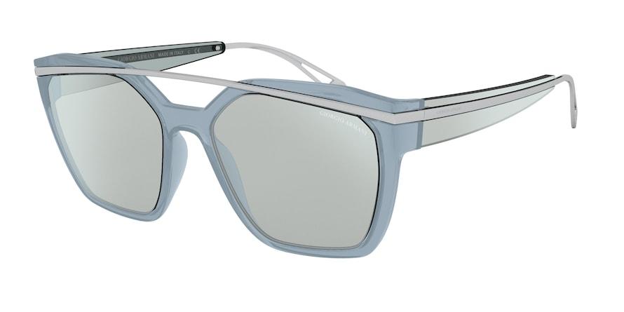 Giorgio Armani AR8125 Azure Lentes Azure Flash Silver