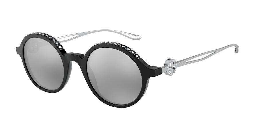 Giorgio Armani AR8127B Black Lentes Grey Mirror Black