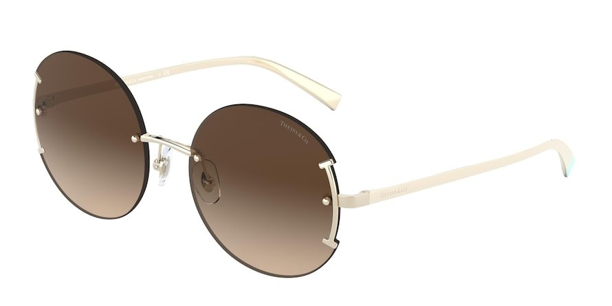 Tiffany TF3071 Pale Gold Lentes Brown Gradient