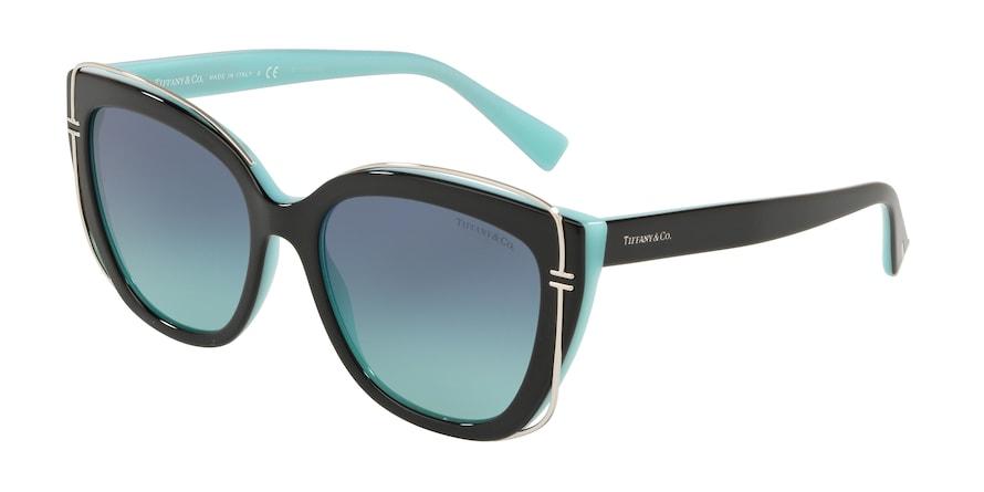 Tiffany TF4148 Black/Blue Lentes Azure Gradient Blue