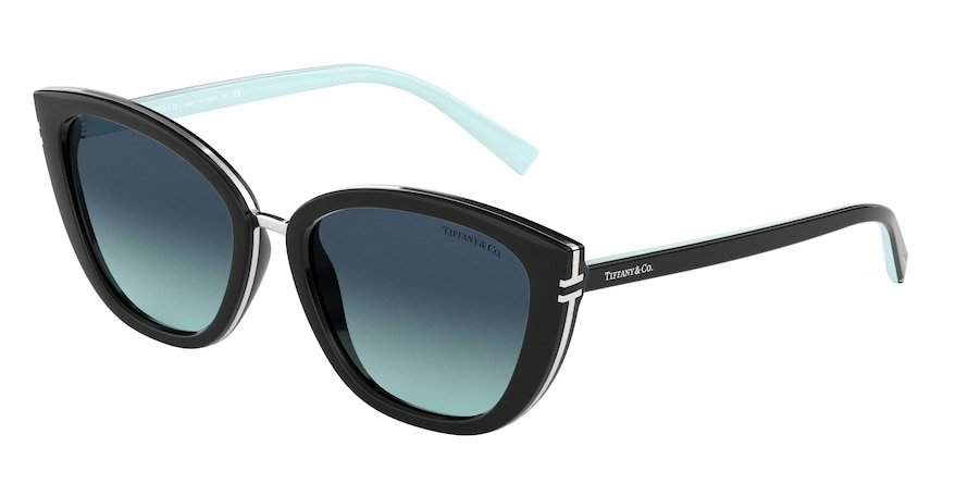 Tiffany TF4152 Black Lentes Azure Gradient Blue