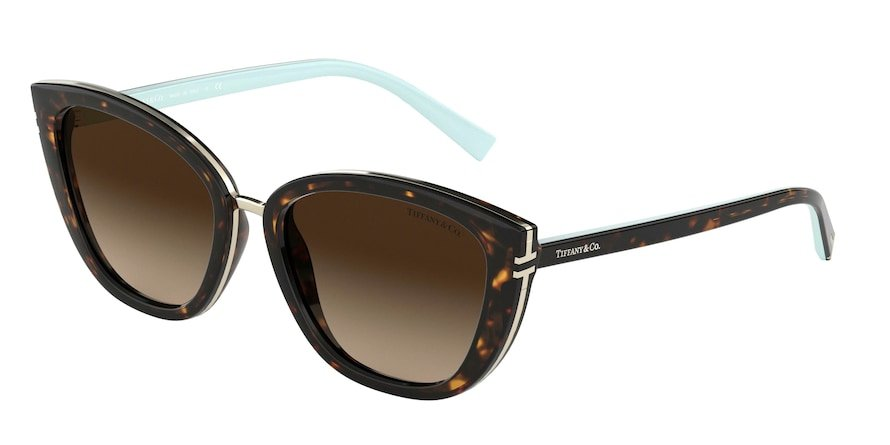 Tiffany TF4152 Havana Lentes Brown Gradient