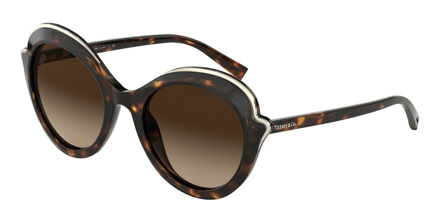 Tiffany TF4155 Dark Havana Lentes Brown Gradient