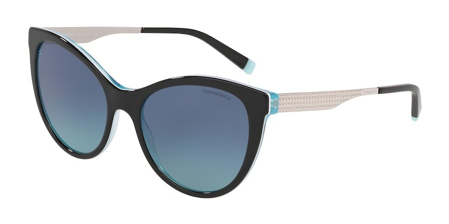 Tiffany TF4159 Black/Crystal Blue Lentes Azure Gradient Blue